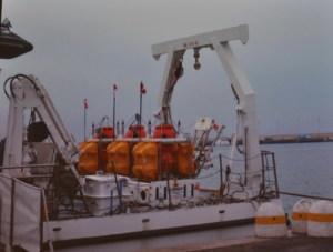 2012 Le tre sonde OBS-H sulla nave Astrea
