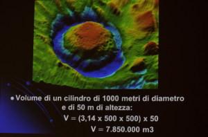2012 Immagini spettacolari del grande Pock Mark denominato Occhio del Ciclope