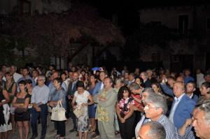 Il pubblico che ha preso parte all'evento