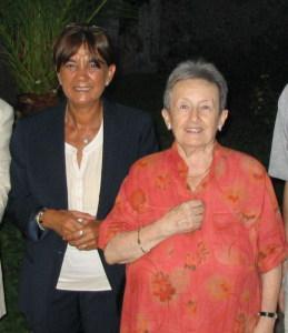 Maria Costanza Lentini e Paola Pelagatti