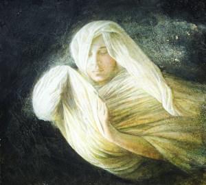 Uno dei quadri della Orrù
