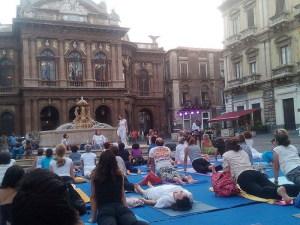 La giornata Yoga a Catania