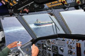 Controllo naviglio dall'Atlantic