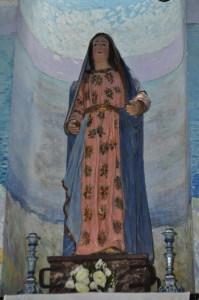 La statua lignea della Madonna del Fuoco