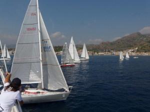 Concorrenti nella baia di Naxos