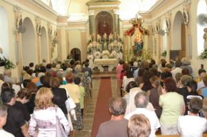 Le solenni celebrazioni in chiesa