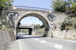 Il Ponte sulla nazionale a Giardini Naxos