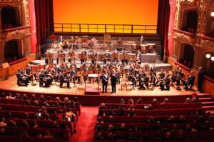 Il Concerto al Teatro Massimo Bellini della Banda AM