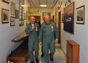 La visita alla Base del Gen. Preziosa