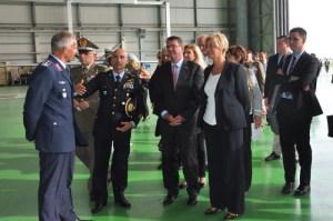 Il Ministro visita la base