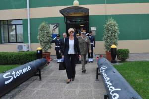 Il Ministro Pinotti in visita alla Base