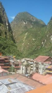 Acqua Caliente nei pressi di Machu Picchu