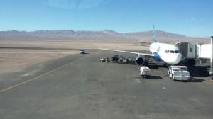 Aeroporto nel Deserto De Atacama