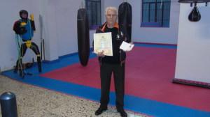 Di Mauro con il Diploma