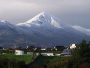 3X Croagh Patrick con neve