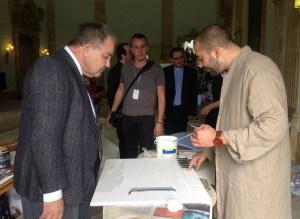 Presidente del Parlamento di Malta Hon. Angelo Farrugia