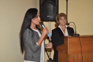 L'Assessore Sandra Sanfilippo e la prof. Graziella Intersimone