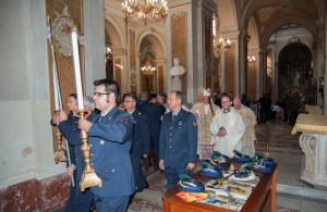 Un momento rituale durante la messa