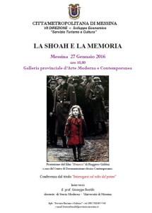 1X La Shoah e la Memoria 2016