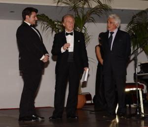 Federico Parisi, Bruno Di Bernardo e Aldo Filistad