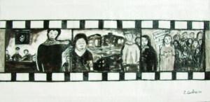 """""""Fotogrammi"""" del film La Terra Trema"""