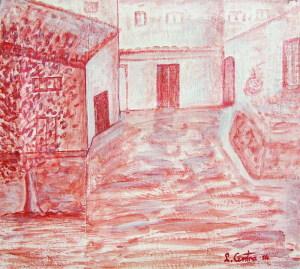 """""""La casa del nespolo"""" (luogo Verghiano)"""