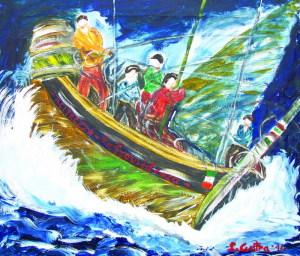 """""""Il naufragio"""" tratto dall'opera di Verga I Malavoglia"""