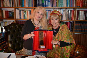 Cristina Tornali e Miriam Jaskierowicz Arman con il premio