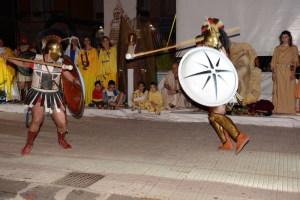 Il duello tra Paride e Menelao