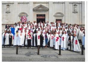 I Templari siciliani in Portogallo a Coimbra nel 2010