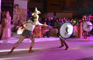 Il duello tra Ettore e Achille