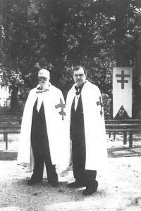 Cavalieri Gran Croce Silvio Crupi e Silvano Villanti
