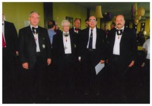 Coimbra nel 2010, Scibilia, Villanti, Pinto Fontes e Rizzo