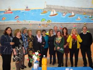 La Borsellino con i docenti