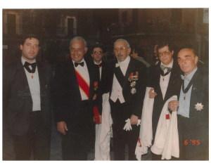 Scibilia, Amb. Malta, Principe Policastro, Silvano Villanti e Crupi