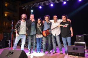 Il Gruppo Rock degli Strange Elements con Andrea Avanzato