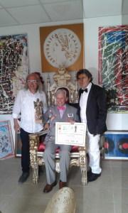 Con Luis Fernandez De Eribe