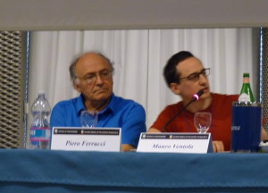Piero Ferrucci e Mauro Ventola