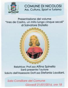 1X  locandina Nicolosi