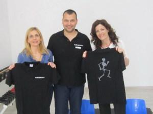 Da sinistra la dott.sa Assunta Zappia, il dott. e la dott.ssa Lucia Scafidi