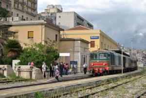 Il treno in stazione