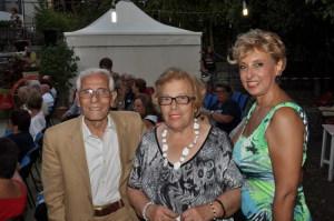 Pippo Galeano, Melina Crimi e Angela Lombardo