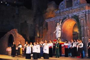 Cavalleria Rusticana: La scena della processione