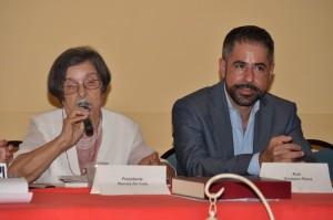 Ada Tripolone e il prof. Graziano Pinna