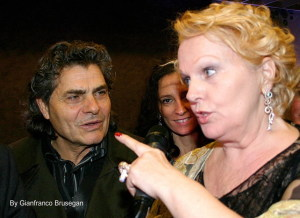 Katia Ricciarelli e Centra Biennale Verona