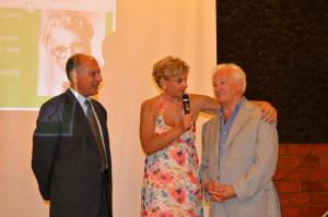 Gianni Saglimbeni, Angela Lombardo e Enzo  Farinella