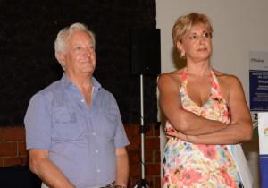 Enzo Farinella e Angela Lombardo