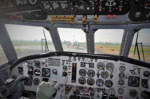 Cabina di pilotaggio dell'Atlantic