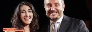 Antonella Ferrara e Franco Di Mare
