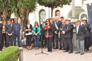 Serafina Sturiale presenta la manifestazione commemorativa